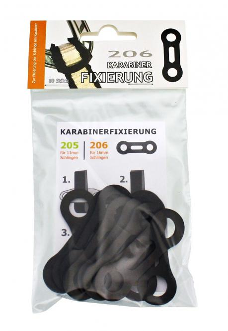 RUBBER-FIX 206 - VE10 - Fixierung 16mm Schlingen
