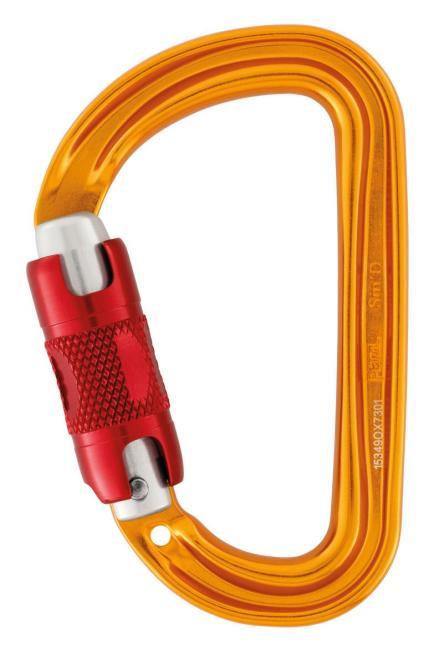 Sm´D - Karabiner Twist-Lock | gelb