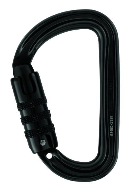 Sm'D - Karabiner Tri-Lock | schwarz