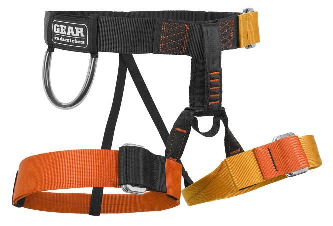 Starter - Sportklettergurt Rot/Orange
