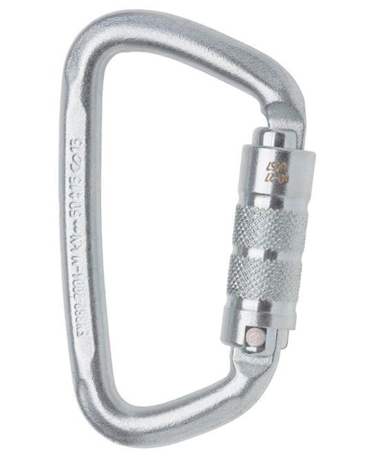 Steel D twist - Karabiner