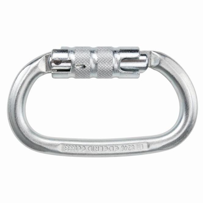 Steel Oval - Twistlockkarabiner Twist-Lock