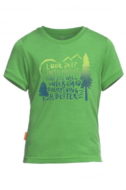 Tech Lite SS Camp - T-Shirt Lawn | 7-8 Jahre