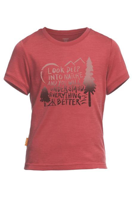 Tech Lite SS Camp - T-Shirt Clay   5-6 Jahre