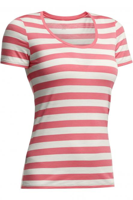 Tech Lite SS Scoop Stripe