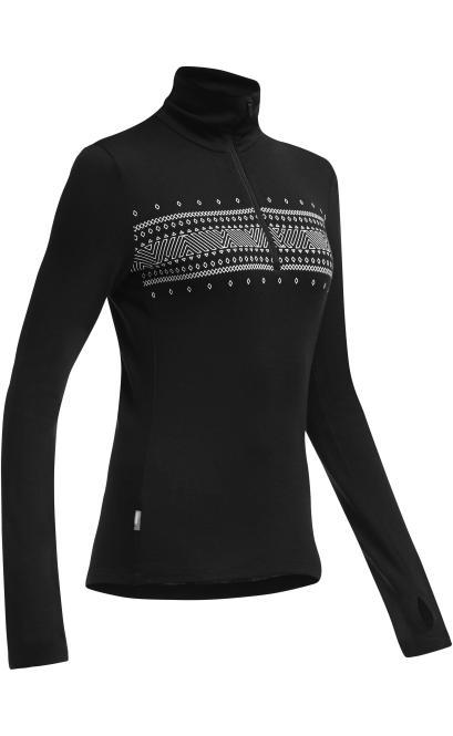 Tech Long Sleeve Half Zip Fair - Funktionsshirt