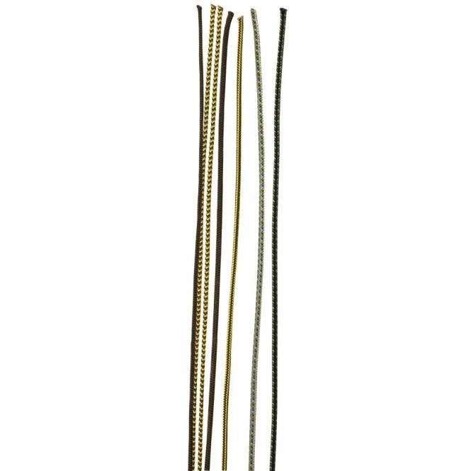 X-Cord 2 mm - Reepschnur schwarz-gelb