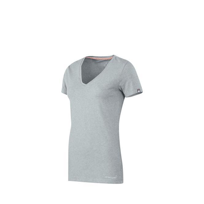 Zephira T-Shirt light grey mélange | Größe S